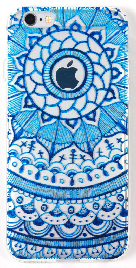 IPhone 6/6s Case, YogaCase InTrends Cover (Henna Window Blue)