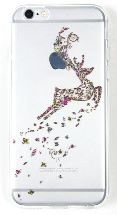 IPhone 6/6s Case, YogaCase InTrends Cover (Jumping Deer)
