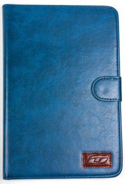iPad Mini 2 NoteFolio YogaCaseTM Magnetic Snap Closure Folio Case With Stand...