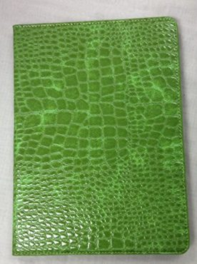 iPad Air 2 YogaCase Crocodile Alligator Pattern Case Cover Green