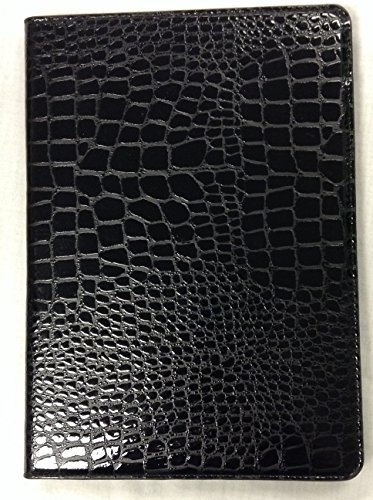 iPad Air 2 YogaCase Crocodile Alligator Pattern Case Cover Black