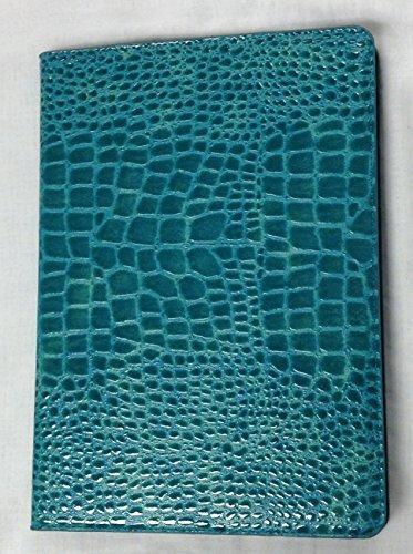 iPad Pro 9.7″ YogaCase Crocodile Alligator Pattern Case Cover Blue
