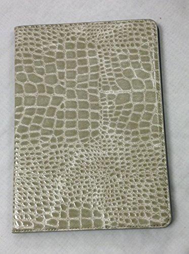 iPad Pro 9.7″ YogaCase Crocodile Alligator Pattern Case Cover Grey