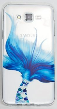 Samsung Galaxy J7 Case, YogaCase InTrends Cover (Mermaid Tale)