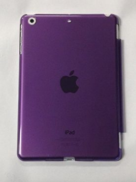 YogaCaseTM Hard PlasticTransparent Case For Apple iPad Mini 2/3 Generation Purple