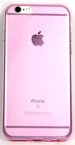 IPhone 6/6S Case, YogaCase Clear Color Soft Cover (Pink)