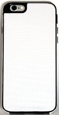 iPhone 6/6S YogaCase SnakeSkin Phone Cover Case (White)