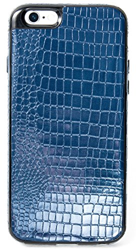iPhone 6/6S YogaCase SnakeSkin Phone Cover Case (Blue)