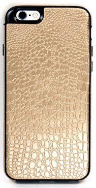 iPhone 6/6S YogaCase SnakeSkin Phone Cover Case (Gold)