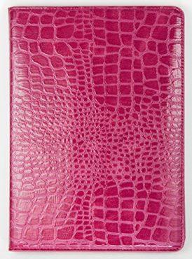 iPad Pro 9.7″ YogaCase Crocodile Alligator Pattern Case Cover Burgundy