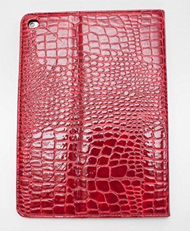 iPad Pro 9.7″ YogaCase Crocodile Alligator Pattern Case Cover Red