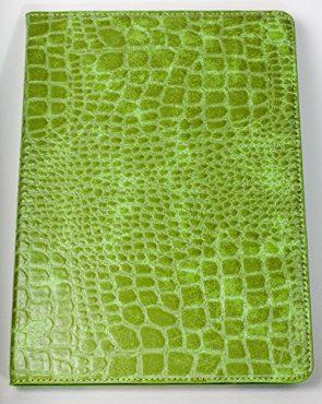iPad Pro 9.7″ YogaCase Crocodile Alligator Pattern Case Cover Green