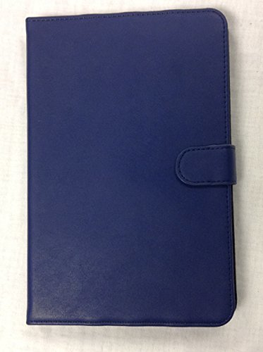 iPad Mini 4 CleanFolio YogaCaseTM Magnetic Tab Flip Case With Stand Navy Blue