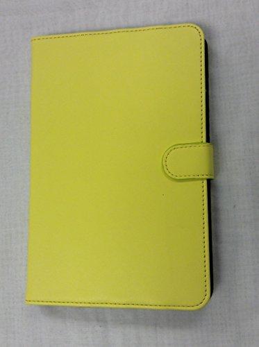 iPad Mini 4 CleanFolio YogaCaseTM Magnetic Tab Flip Case With Stand Yellow