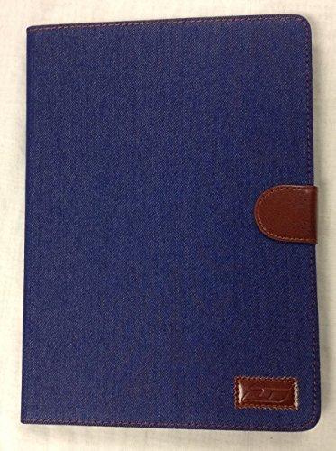 iPad Air 2 True Denim YogaCase™ Magnetic Snap Folio Case With Stand Blue