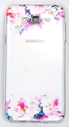 Samsung Galaxy S5 Case, YogaCase InTrends Cover (Watercolor Flowers)