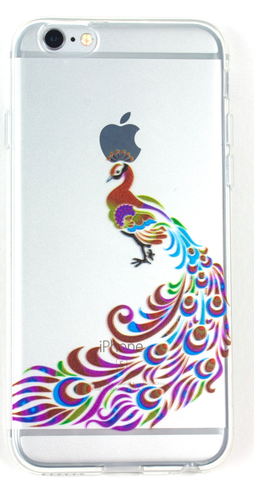 IPhone 6/6s Case, YogaCase InTrends Protective Cover (Colorful Peacock)