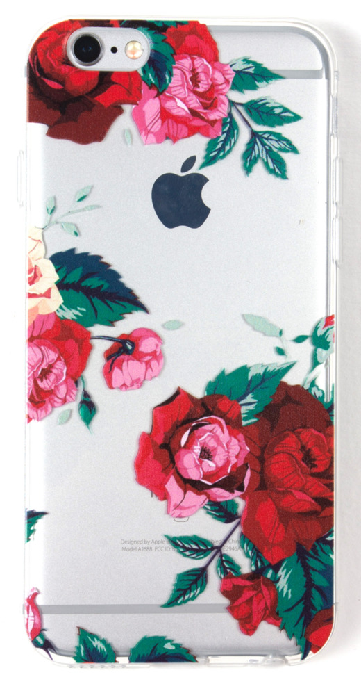 IPhone 6/6s Case, YogaCase InTrends Back Protective Cover (Roses)