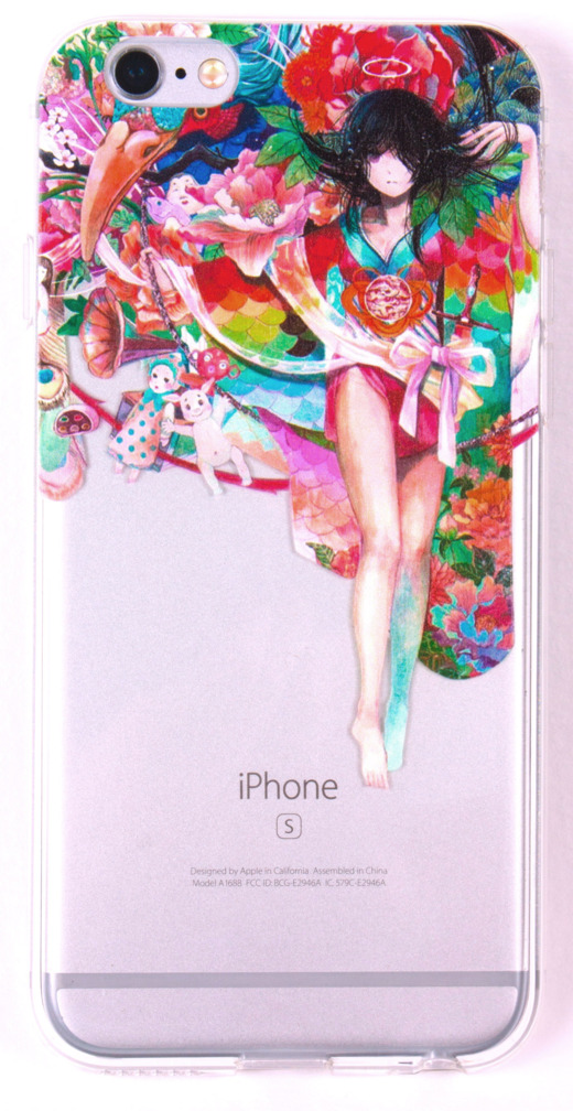 IPhone 6/6s Case, YogaCase InTrends Silicone Back Protective Cover (Anime Angel)